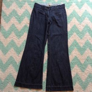 CABI 183 trouser jeans wide leg denim 6